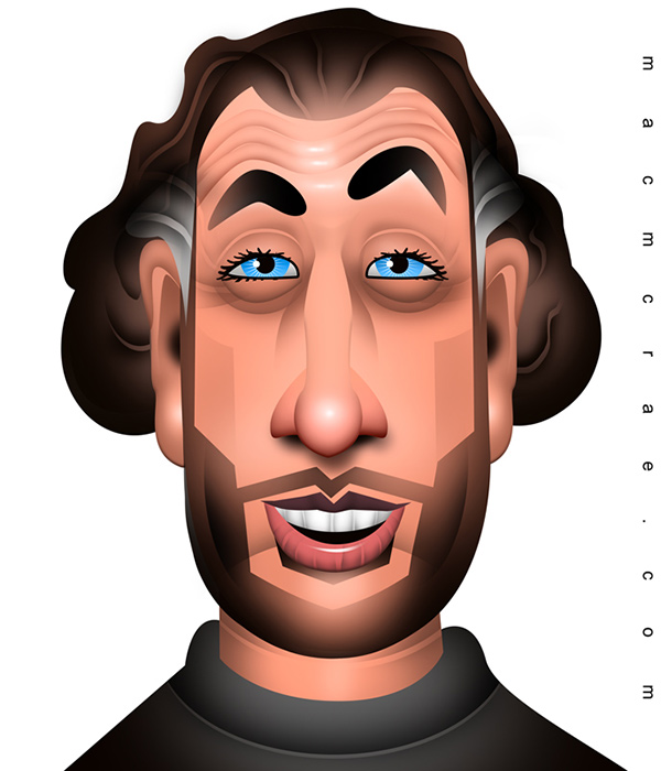 ari shaffir caricature