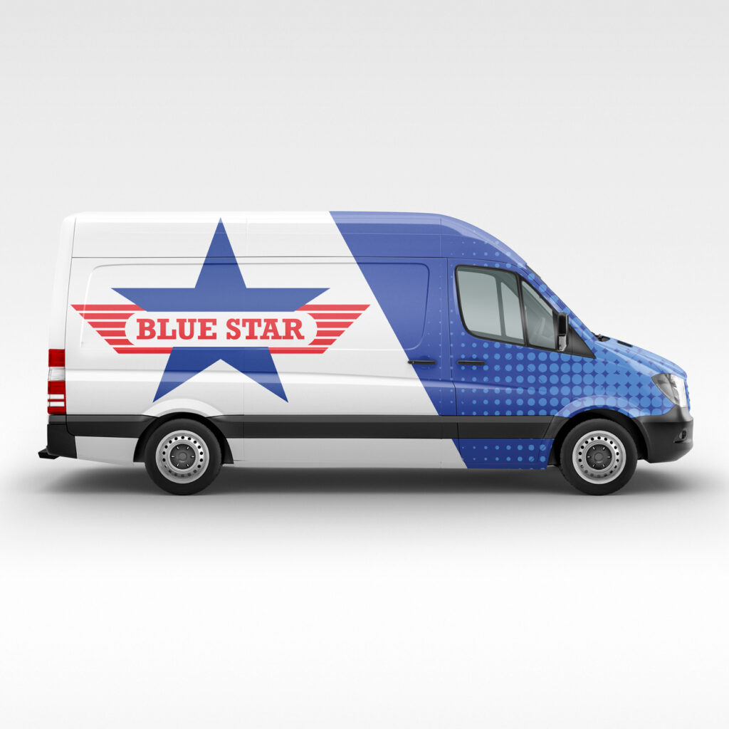 blue star van