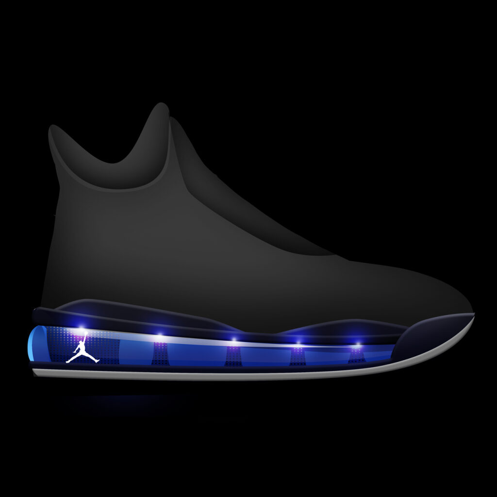 Jordan 45 Glowing Full Length Airbag